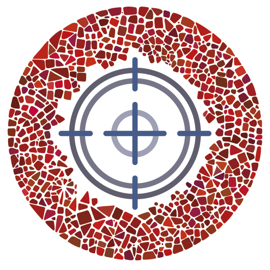 Target mosaic